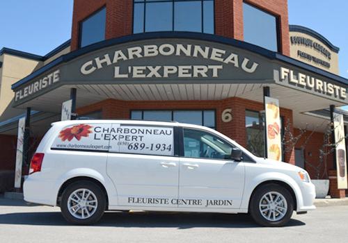 Service de livraison de Charbonneau L'Expert