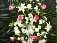 Arrangement floral pour évènement