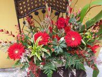 Arrangement floraux créés par l'équipe de Charbonneau L'Expert