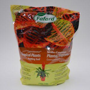 Sac de terre pour plantes d'intérieur et tropicales