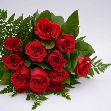 Magnifique douzaine de roses
