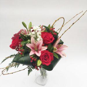 Bouquet rouge éclat