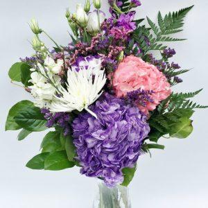 Bouquet violet éclatant