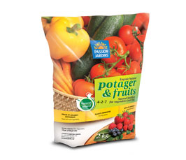 Engrais potager et fruits passion jardin