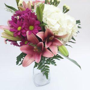 Bouquet heureux printemps