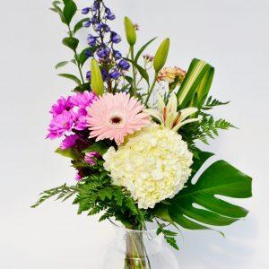 Bouquet soyeux