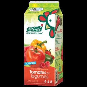 Engrais pour tomates et potager acti-sol
