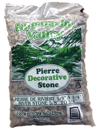 """Pierre de rivière 5/8"""" - 3/4"""""""