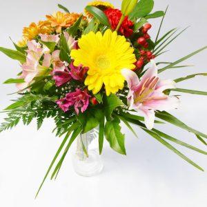 Bouquet tout en couleurs