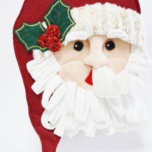 Déco porte Père-Noël