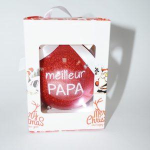 Boule de Noël papa