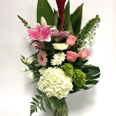 Bouquet lumière brillante
