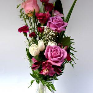 Bouquet rêve en mauve