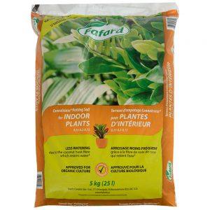 Terreau pour plantes d'intérieur et tropicales 25L