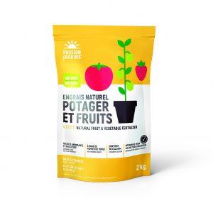 Engrais potager et fruits 2kg