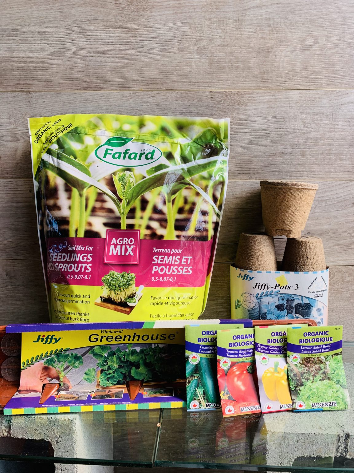 ensemble semis légumes