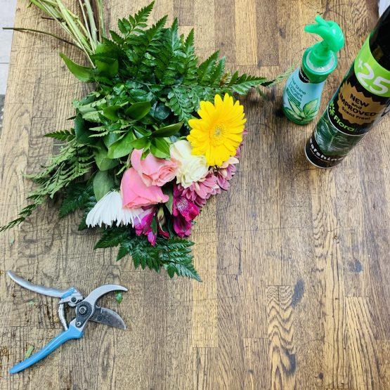 Bouquet de fleurs mélangées