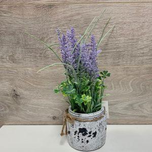 Bouquet de lavande artificiel