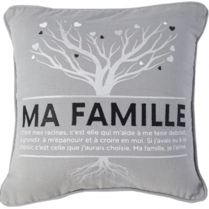 Coussin ''Ma famille''