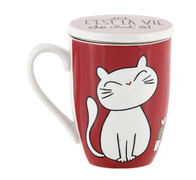Tisanière chat