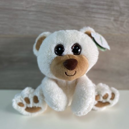 Peluche Buster bear blanc