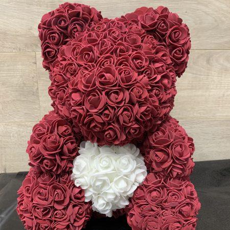 Ourson de roses (Moyen)