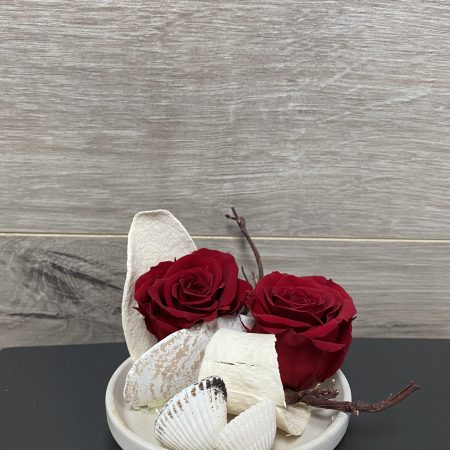 arrangement rose éternelle #06
