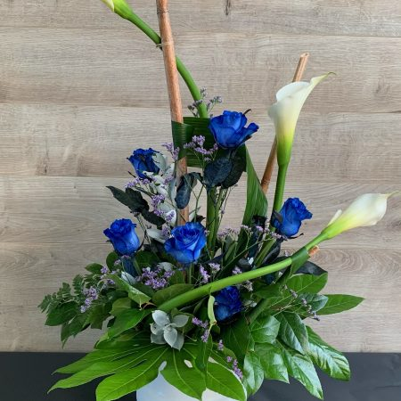 arrangement bleu divin
