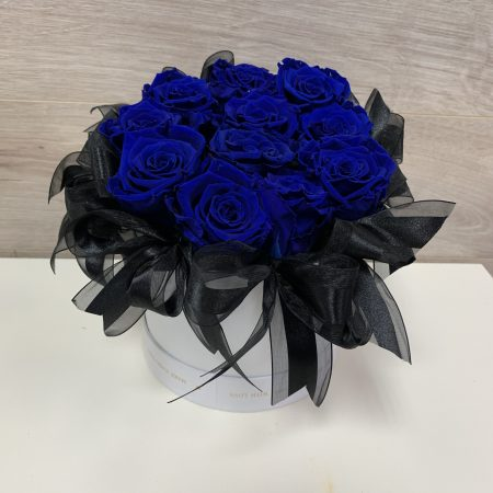 Boîte de roses éternelles