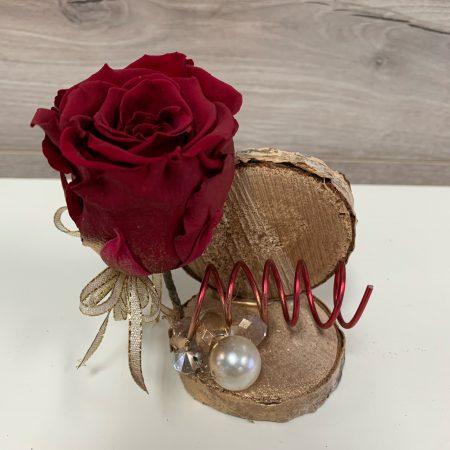 arrangement rose éternelle #02