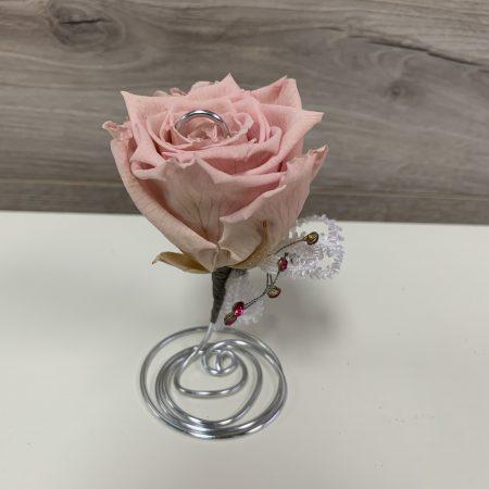 arrangement rose éternelle #05